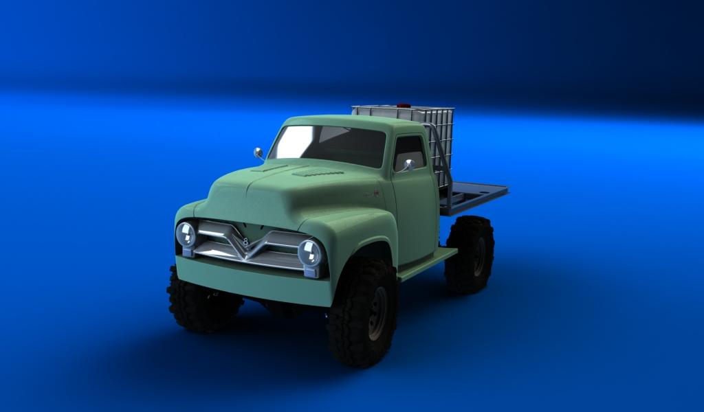 CONCEPTION 3D et IMPRESSION 3D (machine PRO) - Page 4 Pick-up-ford