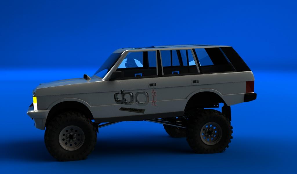 range classique sur chassis SCX10