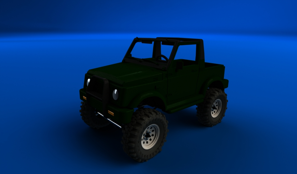 CONCEPTION 3D et IMPRESSION 3D (machine PRO) - Page 4 Santana-sur-chassis-court-scx10