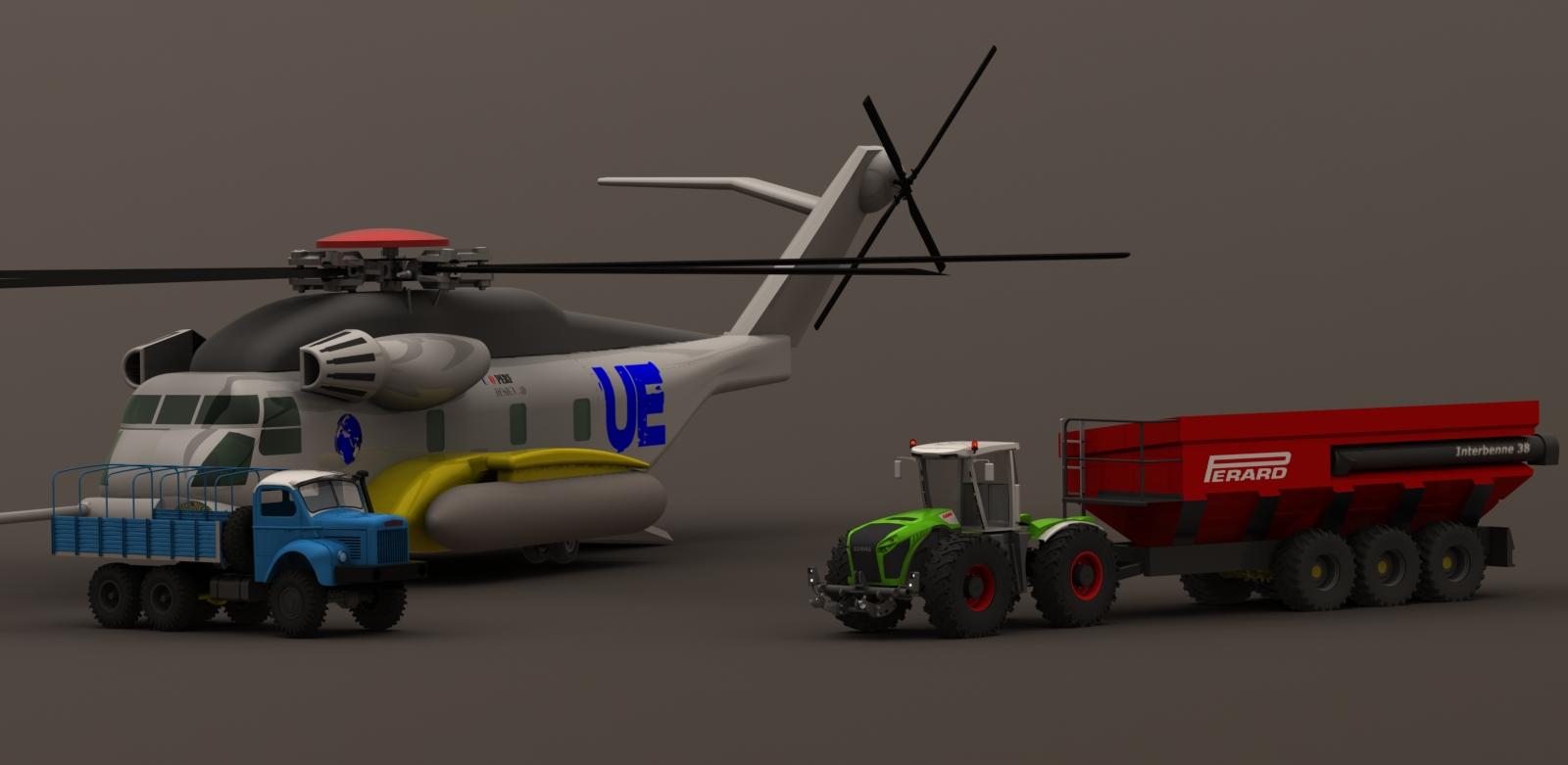 construction XERION echelle 1/8em R/C - Page 4 Sikorsky.10